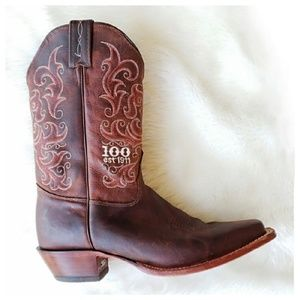 Tony Lama 100th Anniversary Leather Boots